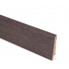 Плинтус шпонированный Lab Arte Oak Bazalt 70 мм