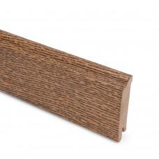 Плинтус шпонированный Lab Arte Oak Eben 80 мм