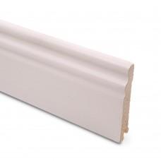 Плинтус шпонированный Lab Arte Ash White 95 мм