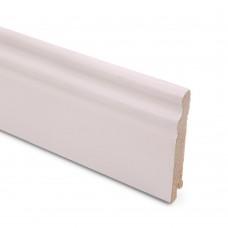 Плинтус шпонированный Lab Arte White 95 мм
