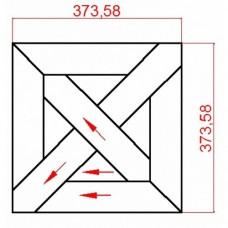 Модульный паркет Lab Arte Дуб массив №9-70 Рустик