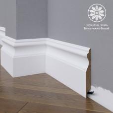 Плинтус Madest Decor 03-120-16 белая базовая эмаль w0312016