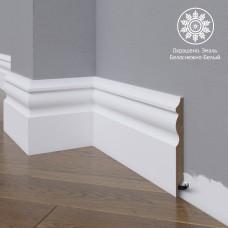 Плинтус Madest Decor 14-120-16 белая базовая эмаль w1412016