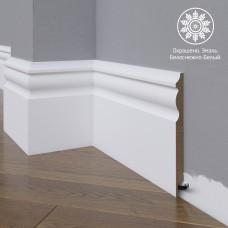 Плинтус Madest Decor 14-150-16 белая базовая эмаль w1415016