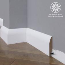 Плинтус Madest Decor 18-100-18 белая базовая эмаль w1810018