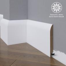 Плинтус Madest Decor 18-136-18 белая базовая эмаль w1813618