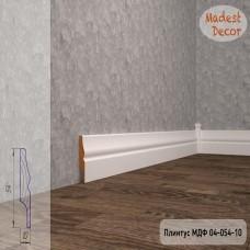 Плинтус Madest Decor 04-054-10 грунт под покраску