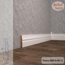 Плинтус Madest Decor 04-054-12 грунт под покраску