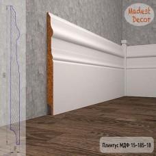 Плинтус Madest Decor 15-185-18 грунт под покраску pr1518518