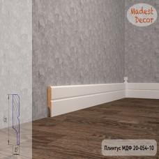 Плинтус Madest Decor 20-054-10 грунт под покраску pr2005410