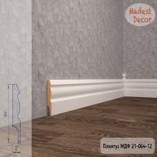 Плинтус Madest Decor 21-064-12 грунт под покраску pr2106412