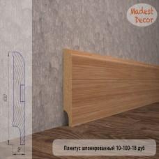 Плинтус Madest Decor Дуб 10-100-18