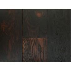 Массивная доска Magestik Floor коллекция Classic Дуб мокка брашированный