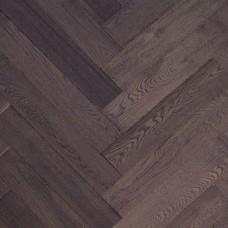 Инженерная доска Marco Ferutti венгерская елка Дуб Клауд 610 x 122 x 15 мм коллекция Hermitage