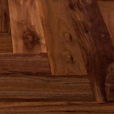 Инженерная доска Marco Ferutti венгерская елка Орех Американский селект 610 x 122 x 15 мм коллекция Hermitage