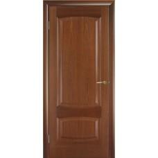 Межкомнатная дверь Мебель-Массив Антик Красное дерево без патины полотно глухое
