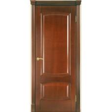 Межкомнатная дверь Мебель-Массив Антик Миланский орех без патины полотно глухое