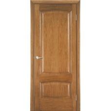 Межкомнатная дверь Мебель-Массив Антик Светлый дуб без патины полотно глухое