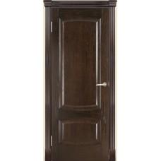 Межкомнатная дверь Мебель-Массив Антик Темный дуб без патины полотно глухое