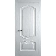 Межкомнатная дверь Мебель-Массив Барселона Эмаль белая на дубе без патины полотно глухое
