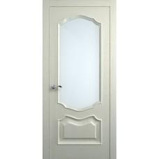Межкомнатная дверь Мебель-Массив Барселона Эмаль RAL 1013 без патины полотно с остеклением