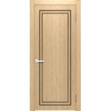 Межкомнатная дверь Мебель-Массив Генуя 1 Шампань дуб полотно глухое