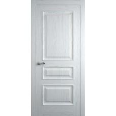 Межкомнатная дверь Мебель-Массив Гранада Эмаль белая на дубе без патины полотно глухое
