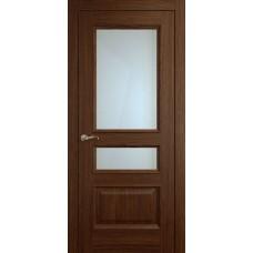 Межкомнатная дверь Мебель-Массив Гранада Коньячный дуб без патины полотно с остеклением