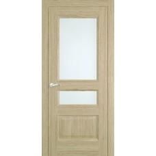 Межкомнатная дверь Мебель-Массив Гранада Шампань дуб без патины полотно с остеклением