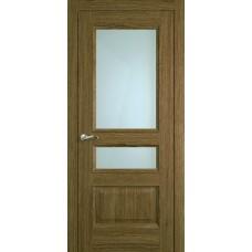 Межкомнатная дверь Мебель-Массив Гранада Светлый дуб без патины полотно с остеклением