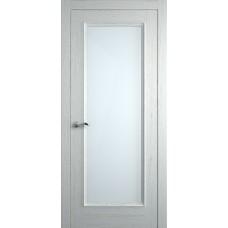 Межкомнатная дверь Мебель-Массив Гранада 3 Эмаль RAL 9010 без патины полотно с остеклением