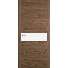 Межкомнатная дверь Мебель-Массив Кремона Табак дуб полотно с остеклением (стекло матовое)