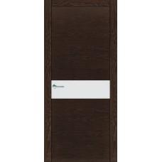 Межкомнатная дверь Мебель-Массив Кремона Темный дуб полотно с остеклением (стекло матовое)