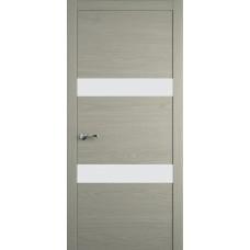 Межкомнатная дверь Мебель-Массив Кремона 2 Эмаль RAL 7044 полотно с остеклением (стекло матовое)