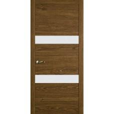 Межкомнатная дверь Мебель-Массив Кремона 2 Светлый дуб полотно с остеклением (стекло матовое)