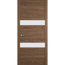 Межкомнатная дверь Мебель-Массив Кремона 2 Табак дуб полотно с остеклением (стекло матовое)