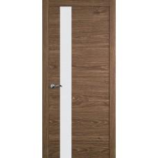 Межкомнатная дверь Мебель-Массив Кремона 3 Табак дуб полотно с остеклением (стекло матовое)