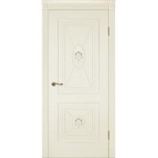 Межкомнатная дверь Мебель-Массив Мадрид 2 Эмаль слоновая кость без патины полотно глухое