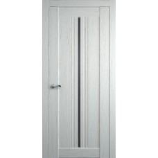 Межкомнатная дверь Мебель-Массив Неаполь 1 Эмаль RAL 9010 полотно с остеклением