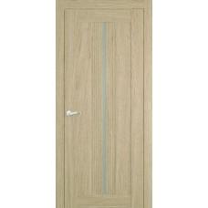 Межкомнатная дверь Мебель-Массив Неаполь 1 Шампань дуб полотно с остеклением