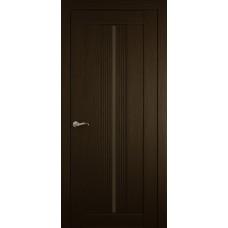 Межкомнатная дверь Мебель-Массив Неаполь 1 Темный дуб полотно с остеклением