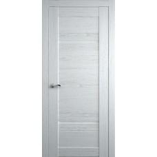 Межкомнатная дверь Мебель-Массив Неаполь 2 Эмаль белая на дубе полотно глухое