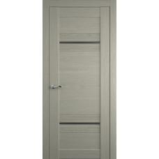 Межкомнатная дверь Мебель-Массив Неаполь 2 Эмаль RAL 7044 полотно с остеклением