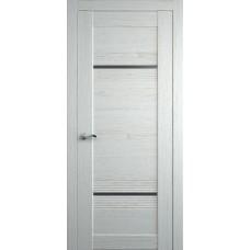 Межкомнатная дверь Мебель-Массив Неаполь 2 Эмаль RAL 9010 полотно с остеклением