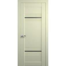 Межкомнатная дверь Мебель-Массив Неаполь 2 Эмаль слоновая кость на дубе полотно с остеклением