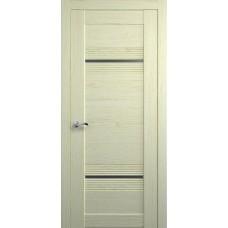 Межкомнатная дверь Мебель-Массив Неаполь 2 Эмаль слоновая кость полотно с остеклением