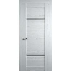 Межкомнатная дверь Мебель-Массив Неаполь 2 Эмаль белая на дубе полотно с остеклением