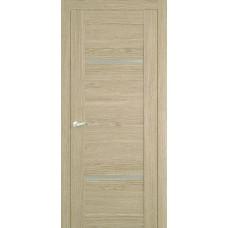 Межкомнатная дверь Мебель-Массив Неаполь 2 Шампань дуб полотно с остеклением