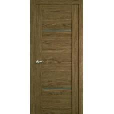 Межкомнатная дверь Мебель-Массив Неаполь 2 Светлый дуб полотно с остеклением