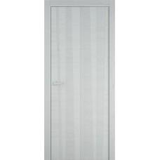 Межкомнатная дверь Мебель-Массив Некст 2 Эмаль белая на дубе шпон вертикальный полотно глухое